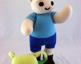 Cuddly Plush Boy Adventurer