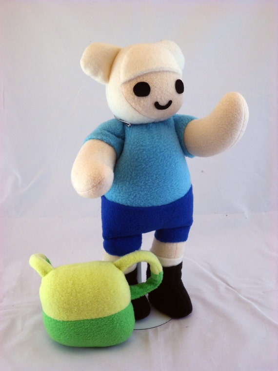 Cuddly Plush Boy Adventurer