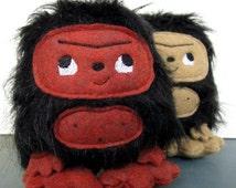 Little Bigfoot Sasquatch Plush
