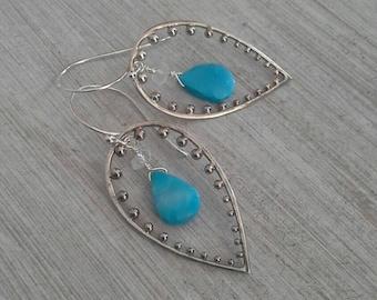 Boho Turquoise Dangles