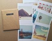 California photography, mini print set, LA San Francisco Joshua Tree San Diego photos, beach, CA gift set, Myan Soffia