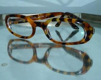 vintage 1990s glasses frames GUCCI Tom Ford tortoise eyeglasses Fendi case