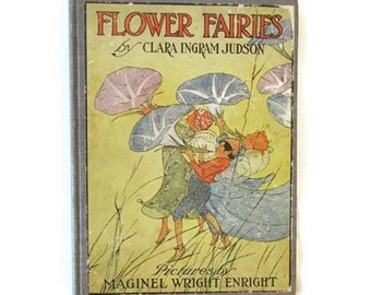 Flower Fairies - 1915 - Maginel Wright Enright - Clara Ingram Judson - Rare