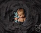 Rabbit Lovie Newborn Infant Baby Photography Prop Knit Bunny Stuffed Animal Bunny Toy Bunny Photo Prop Floppy Ear Rabbit Lovey Knit Rabbit