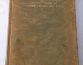 The Sunken Bell Gerhart Hauptmann/Charles Meltzer-1899 Silk Covered Antique Book-A Fairy Play-Fair Condition