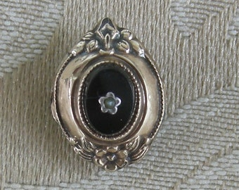 14K Rose Gold Antique Brooch Pin - 1800's - REDuCED