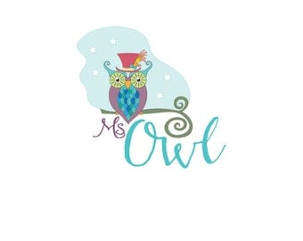 Logo Design, Owl Logo Design