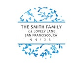 Personalized Return Labels by Pretty Smitten - BLUE & WHITE Collection