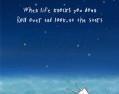 Look At The Stars - 8x10'' High Quality (Archival) Art Print