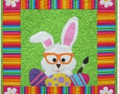 Bunny Business quilt pattern