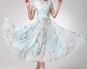 Prom dress women maxi chiffon dress (1245)