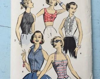 Uncut Vintage Advance Pattern 8309