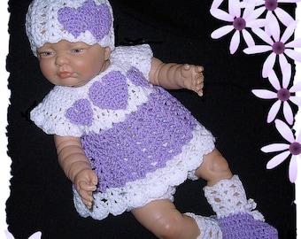 baby dress, newborn dress, crochet baby clothes, coming home outfit, baby girl clothes, baby clothes, baby girl dresses, take home outfits