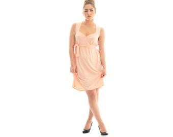 Peach dress/ Women tunic dress/ Summer dress/ Maternity tunic dress/ Maternity clothing/ Maternity tunic top
