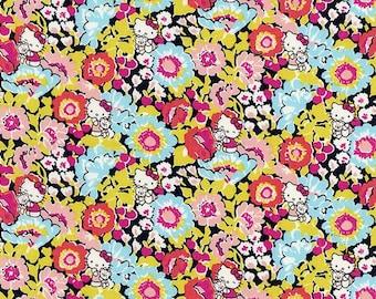 Liberty Tana Lawn Fabric - Liberty Japan, Haruka Daisy, Liberty Print Cotton Scrap, Kawaii Quilting - ntkitty85f