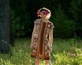 Size Small... Batik Summer Dress... Indonesian Cotton Sun Dress... SOUTHERN SEAS