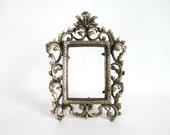 Brass Frame Rococo Heavy Cast Downton Abbey Victorian Style