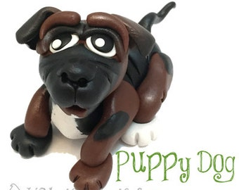 Polymer Clay Puppy Dog Tutorial - Also for Fondant, Sugar Paste, & Other Sculpting Mediums
