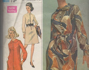 Simplicity 7803 1960's Dress