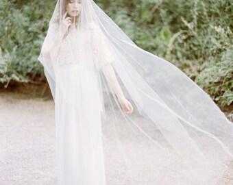 Tulle drop veil, #1014