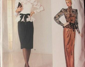 Vintage Vogue American Designer Pattern 1189
