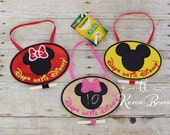 Vacation Countdown Sign, Disney Countdown, Mr Mouse, Miss Mouse, Chalkboard Disney Sign