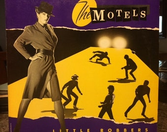 """THE MOTELS """"Little Robbers"""" vinyl record from 1983"""