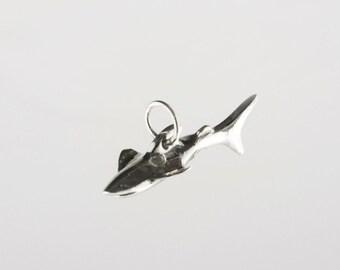 Shark Sterling Silver Charm
