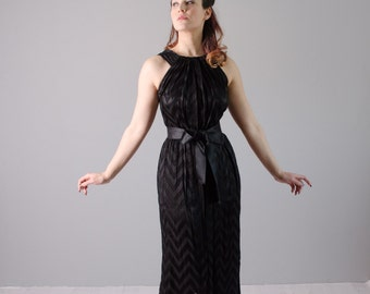 Vintage 1960s Evening Dress - 60s Gown - Love of Life Dress