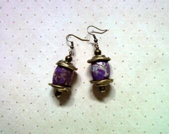 Plum Earrings (1492)
