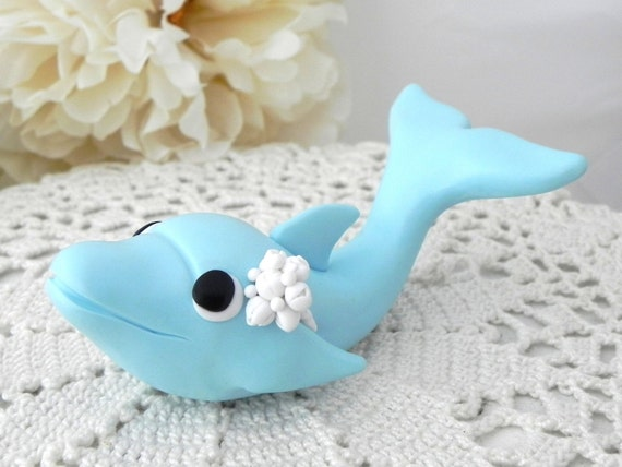 Dolphin Cake Topper Birthday