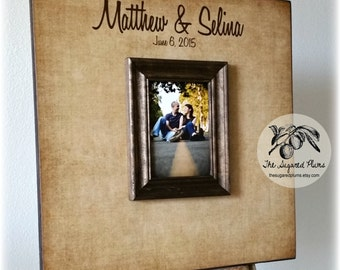 Wedding Guest Book, Alternative Guest Book, Unique Wedding Guestbooks, 20x20 The Sugared Plums Frames