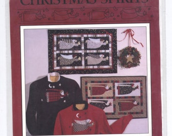 Christmas Spirits Wall Hanging Patterns - Debbie Mumm