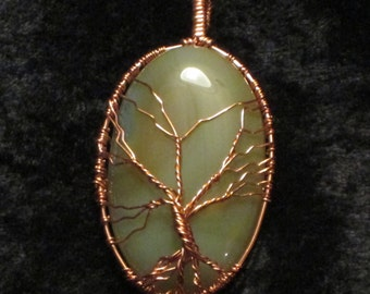 Copper Tree of Life Pendant
