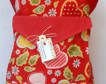 Kids Apron  Apple Meadley