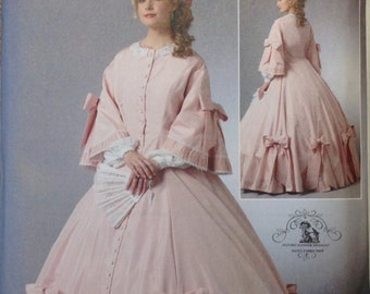 Butterick Pattern Uncut B5543 Making History Civil War Costume Size 6 - 12