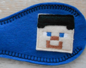 Cloth Eye Patch for Lazy Eye - MC Kid Theme (available in size small)