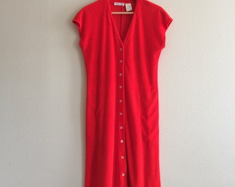 1 9 7 0 s / California Girl Midi Dress