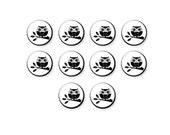 10 pcs Owl Cabochon, Fun Bird On Branch, 12mm Glass Cabochon, Round Cabochon, Glass Cabs, Glass Dome, C1094