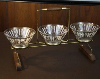 Vintage Danish Modern Serving Bowl Set