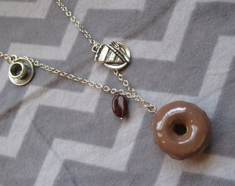 Cooper's Favorite Things necklace inspired by Agent Cooper