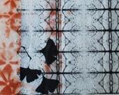 OOAK art, abstract art, etching on handmade paper