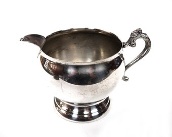 Silver Plated Creamer c.1900