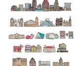 Cleveland print
