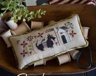 Winsome Pair : Plum Street Samplers counted cross stitch patterns scottie dog doggie doggy hand embroidery