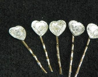heart hair accessories