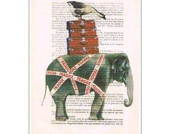 Elephant with goose - Coco de Paris