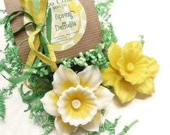 Daffodil Gift Soap - Daffodil Decorative Gift Soap - Vegan