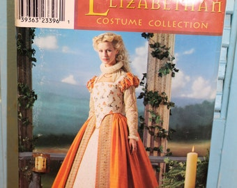 Simplicity Pattern 0679 Elizabethan Costume Collection