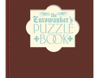 Handmade book of puzzles for Europhiles